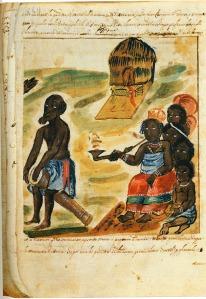 Queen Nzinga, Kongo, 1670s, Ezio Bassani's edition of Cavazzi's Manuscript