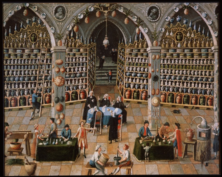18th century apothecary