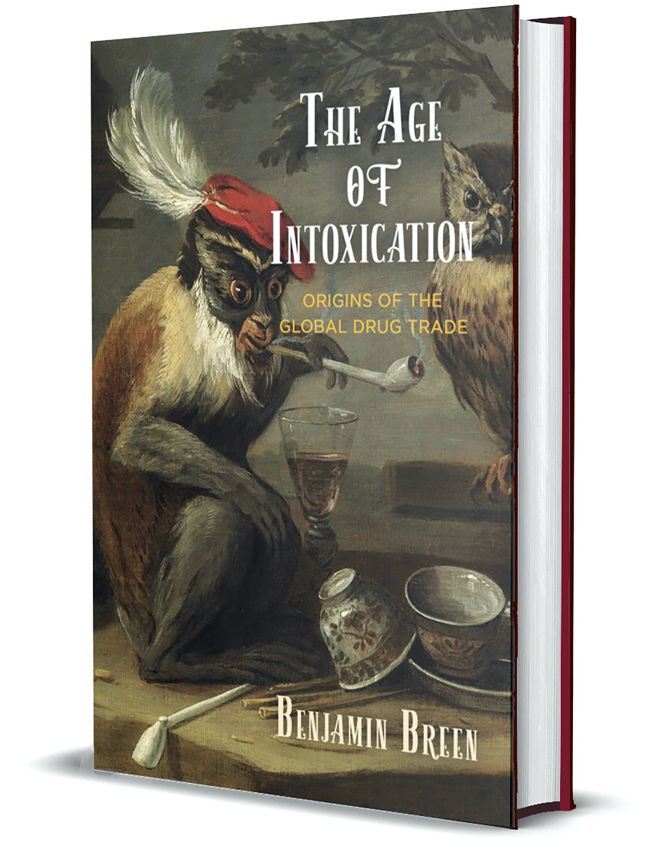 Age of Intoxication 3d book cover